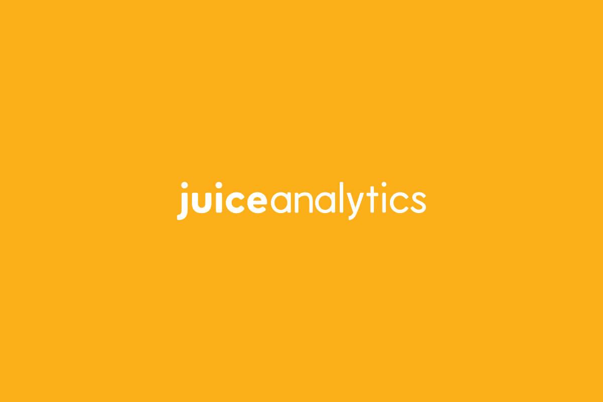 Juice Analytics logo design