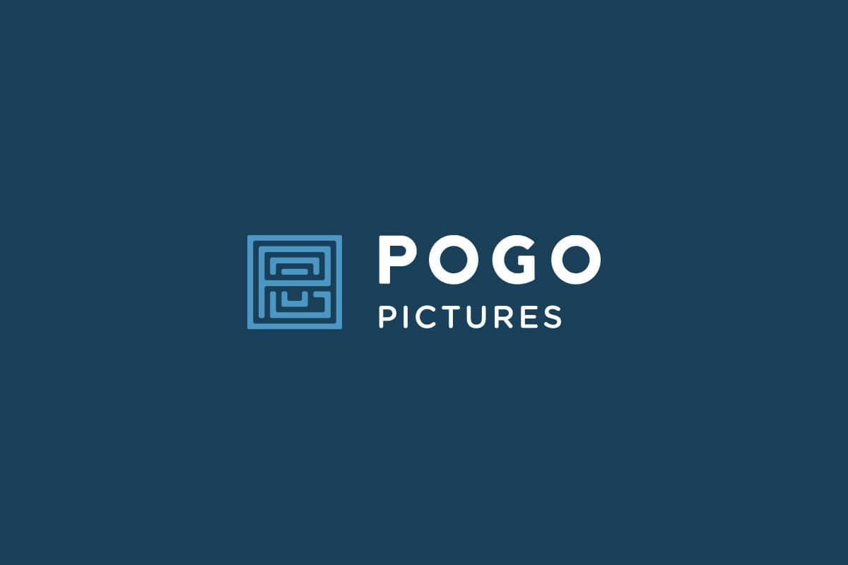 Pogo Pictures film production company logo design