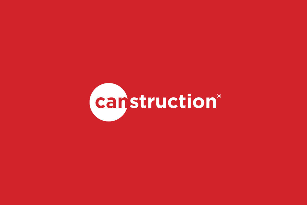 Canstruction nonprofit logo design