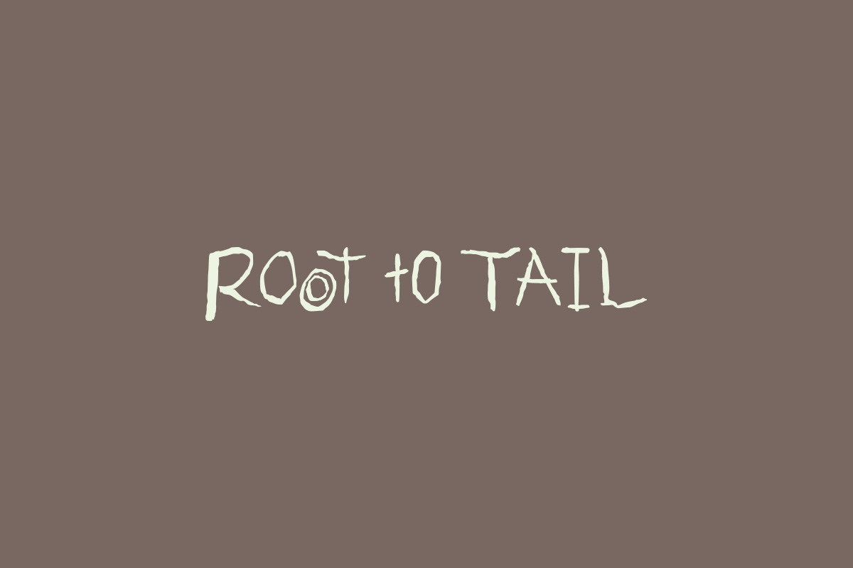 Root to Tail restaurant logo design