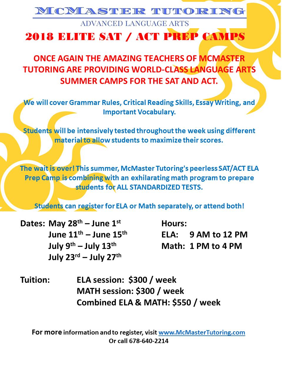 2018 Summer SAT camp flyer.png
