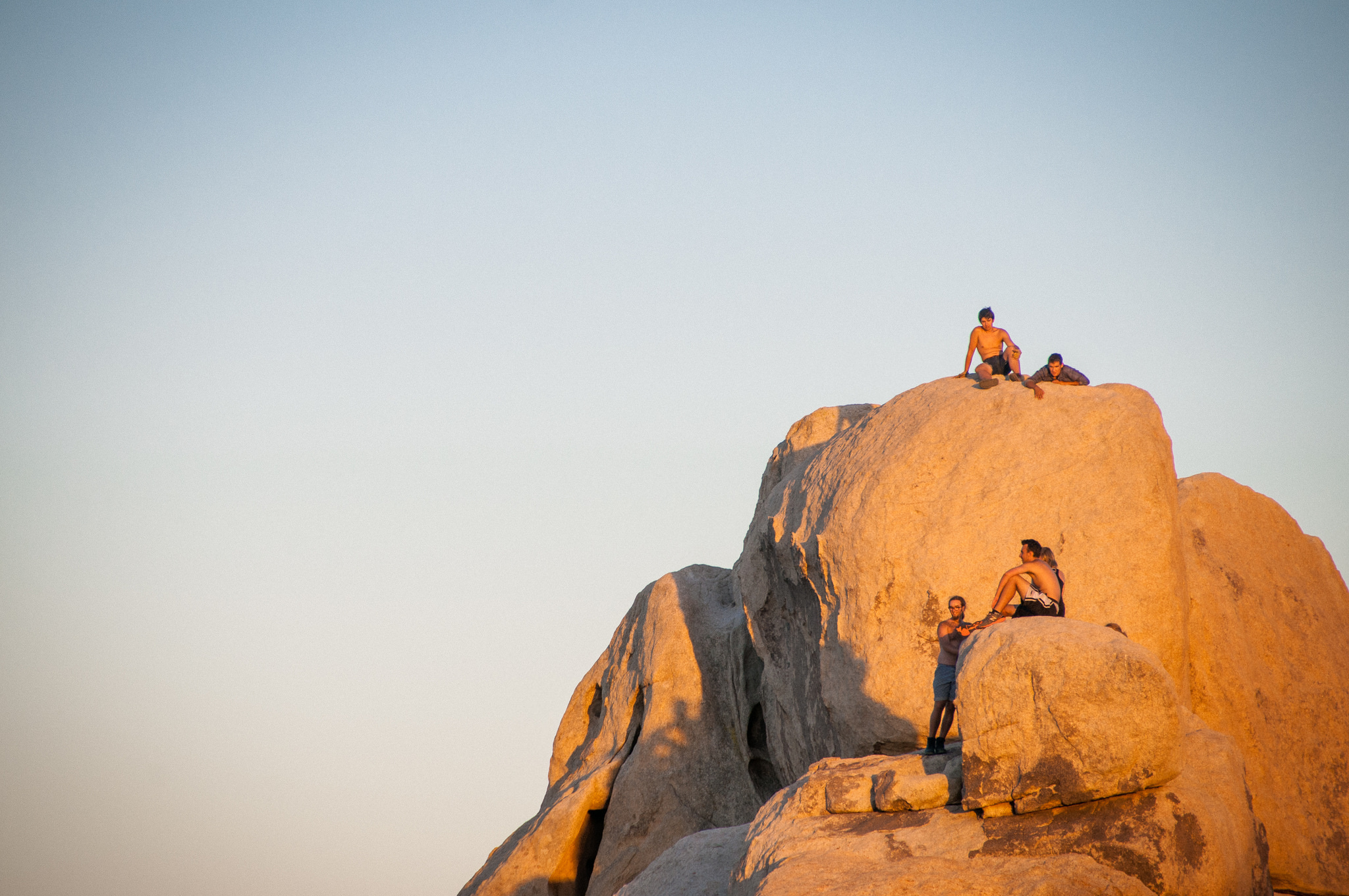 Took a trip out to Joshua Tree for my love's birthday...