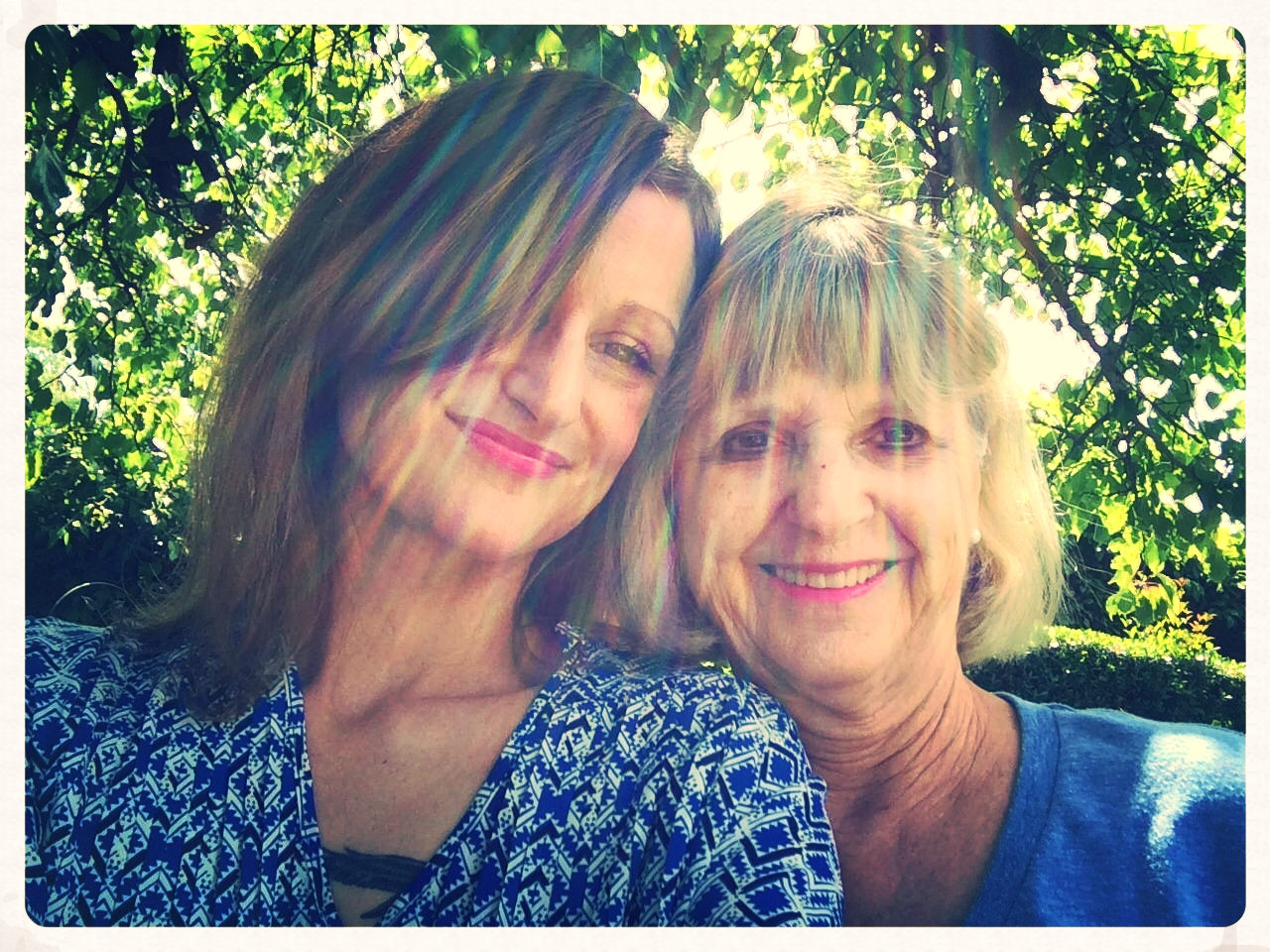 Me and mom, better than ever. Fresno, April 2014.