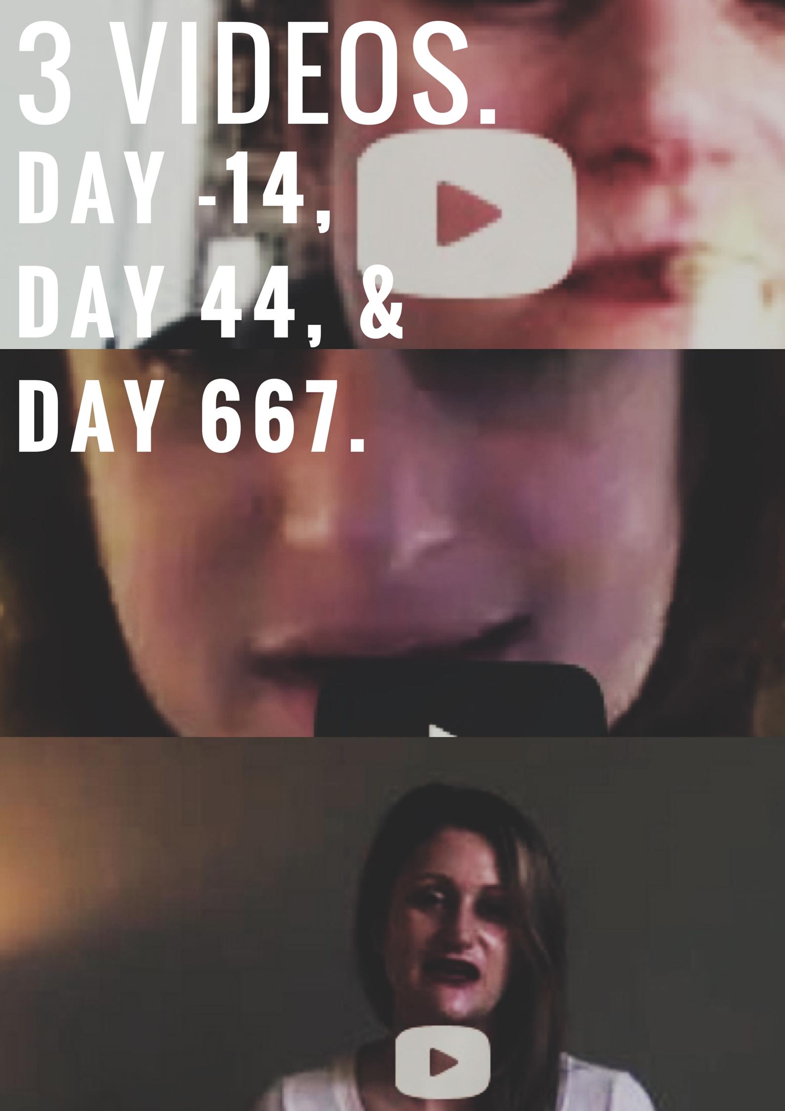 3 VIDEOS