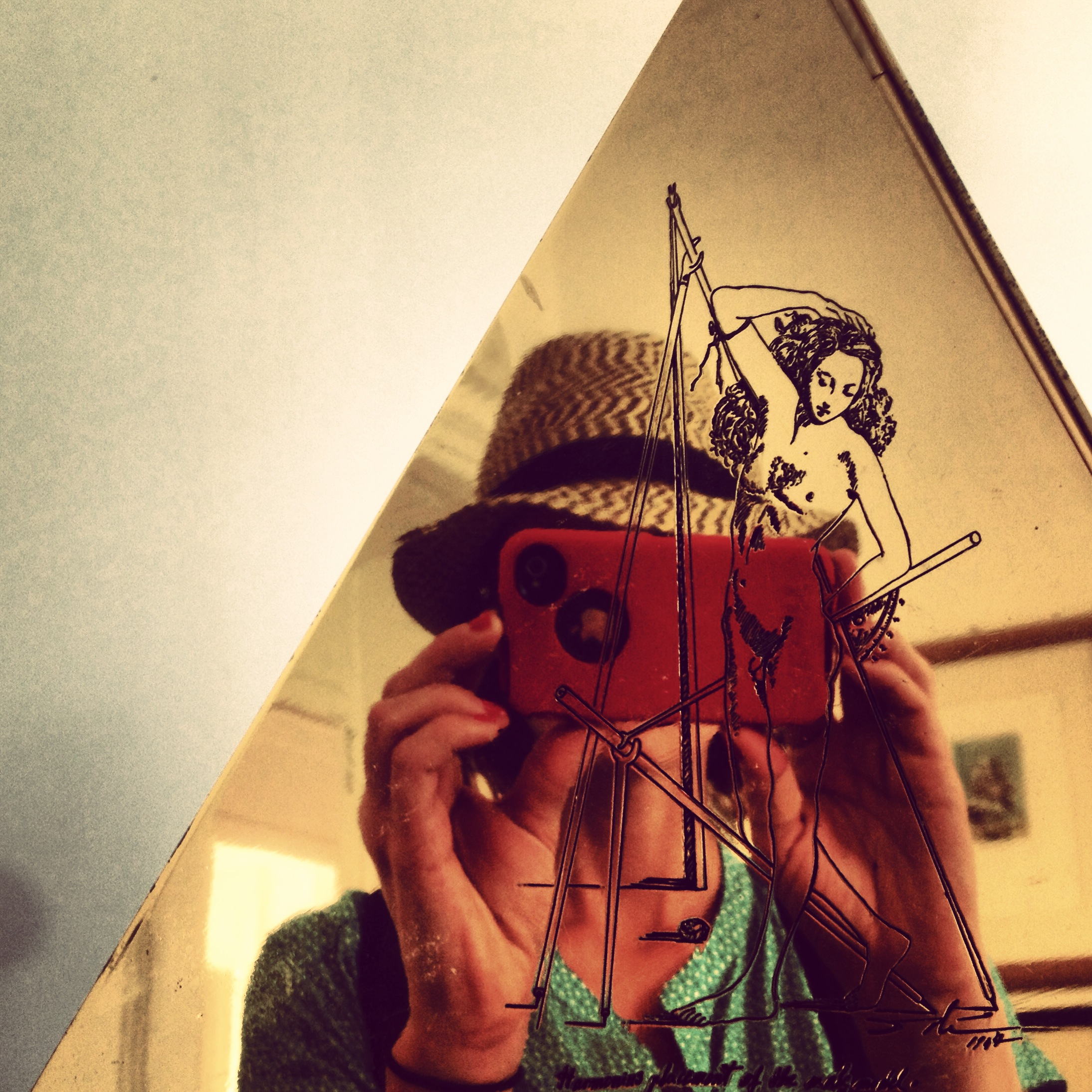 Me and iPhone and Dali.
