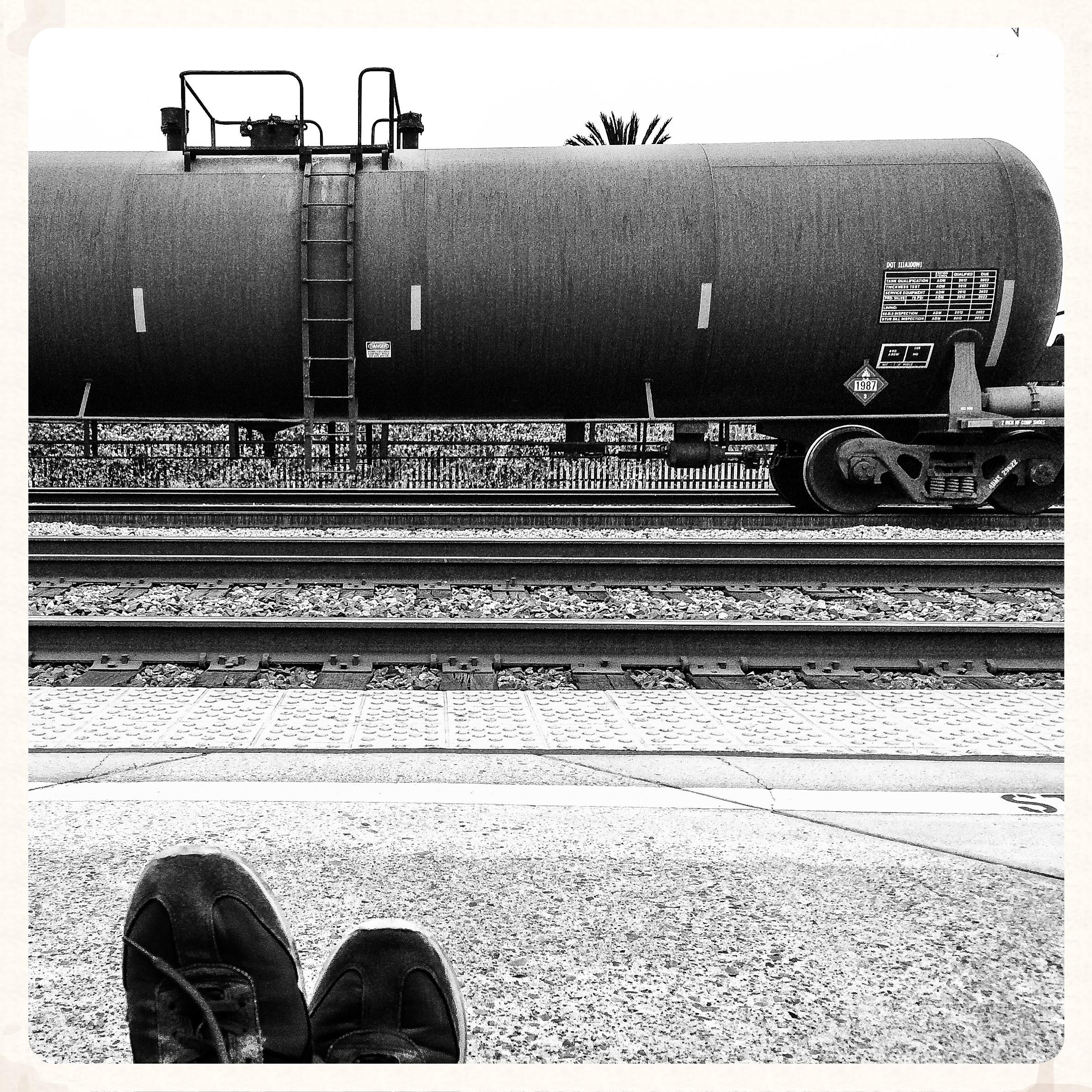 2013, Homeless and Amtraking.