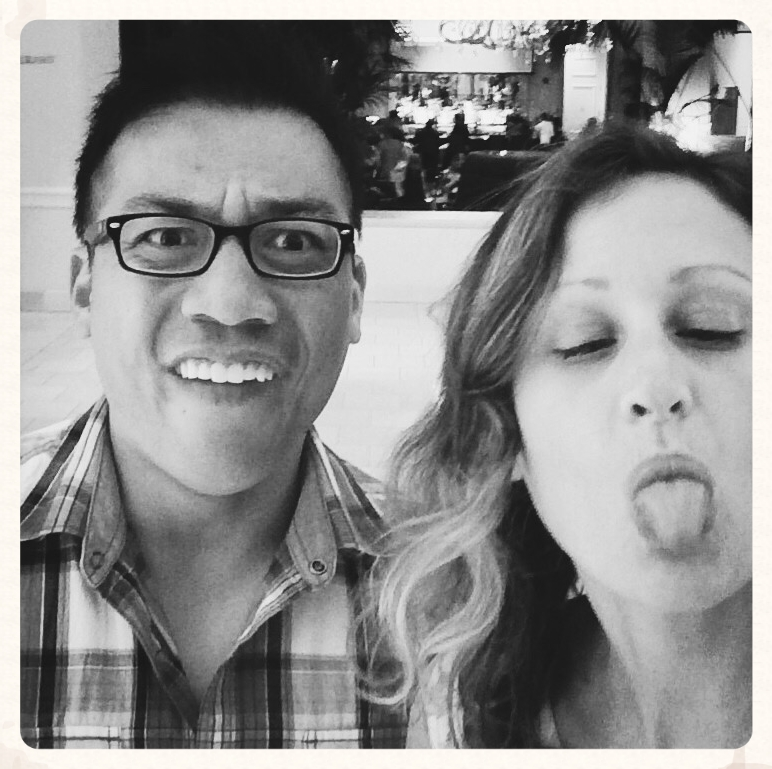 San Jose, August, 2014. Brandon Ha, the mind and heart behind   Break Yo Stigma  , who I stalked after finding his Instagram account. We eventually had a phone call at my behest, then met in real life, and now he's like, in my will.