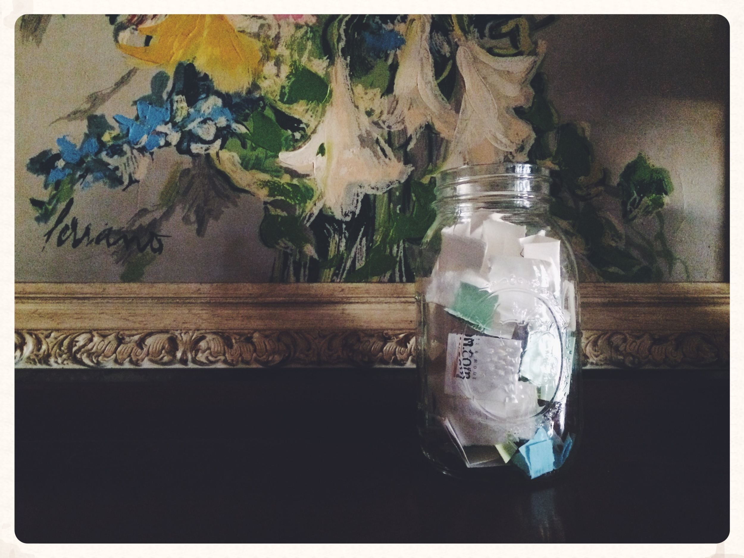 My temporary Happiness Jar in Fresno.