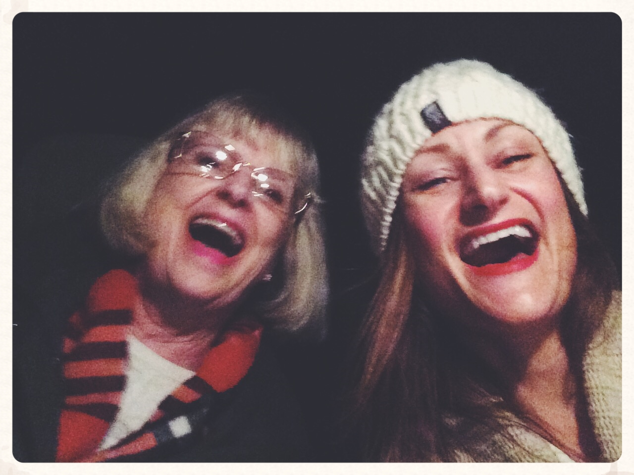 Me and my mommy, Christmas 2015.