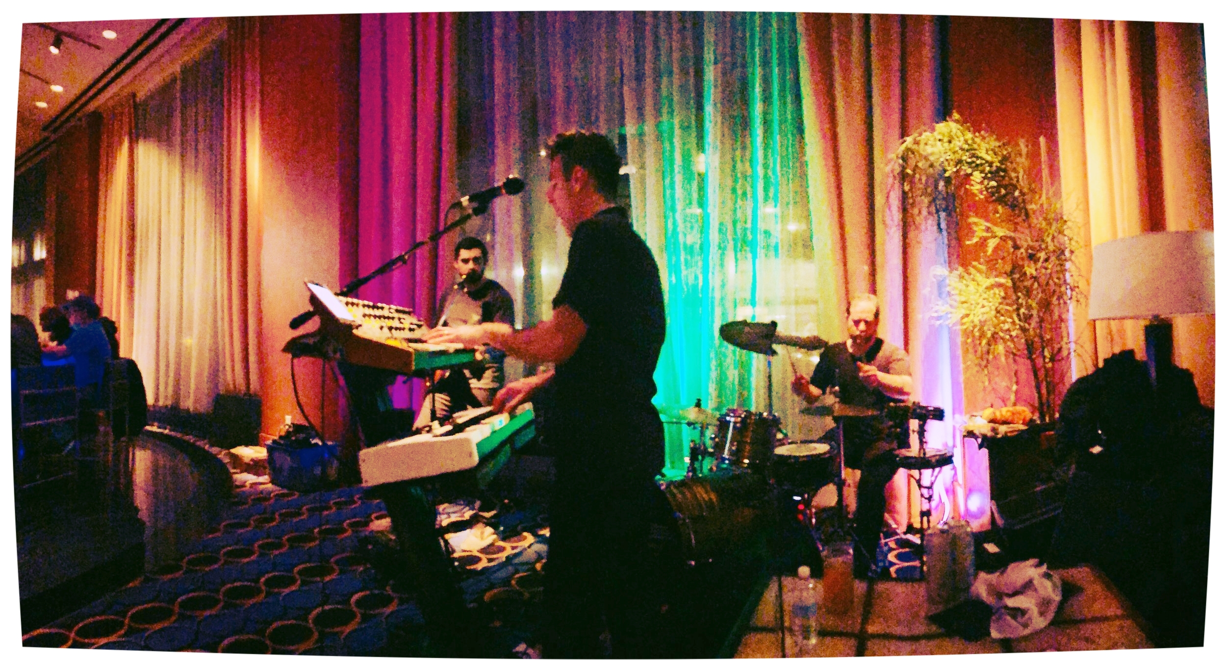 Mossy Peak's debut show at the Renaissance Waterfront Hotel, Boston - 4/7/18