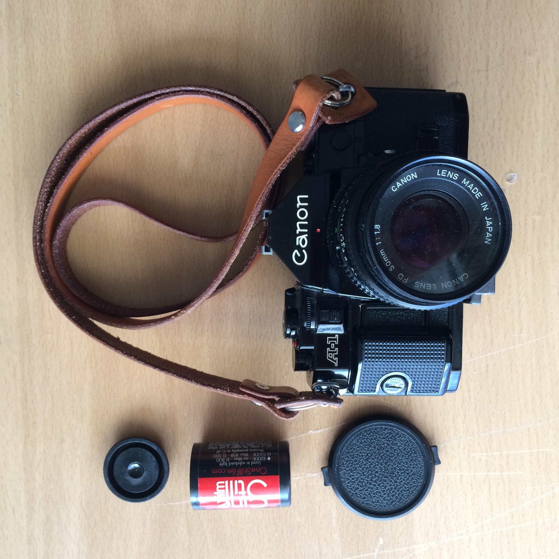 Cinestill 800 Film + Canon A1 / Canon 50mm FD f/1.8