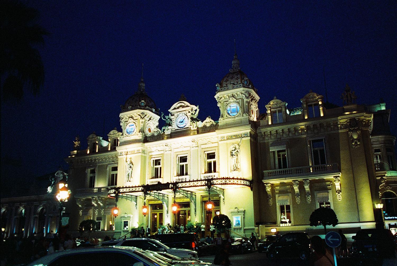 Casino De Monte Carlo, Cinestill 800t, Canon A1. Aug 2015