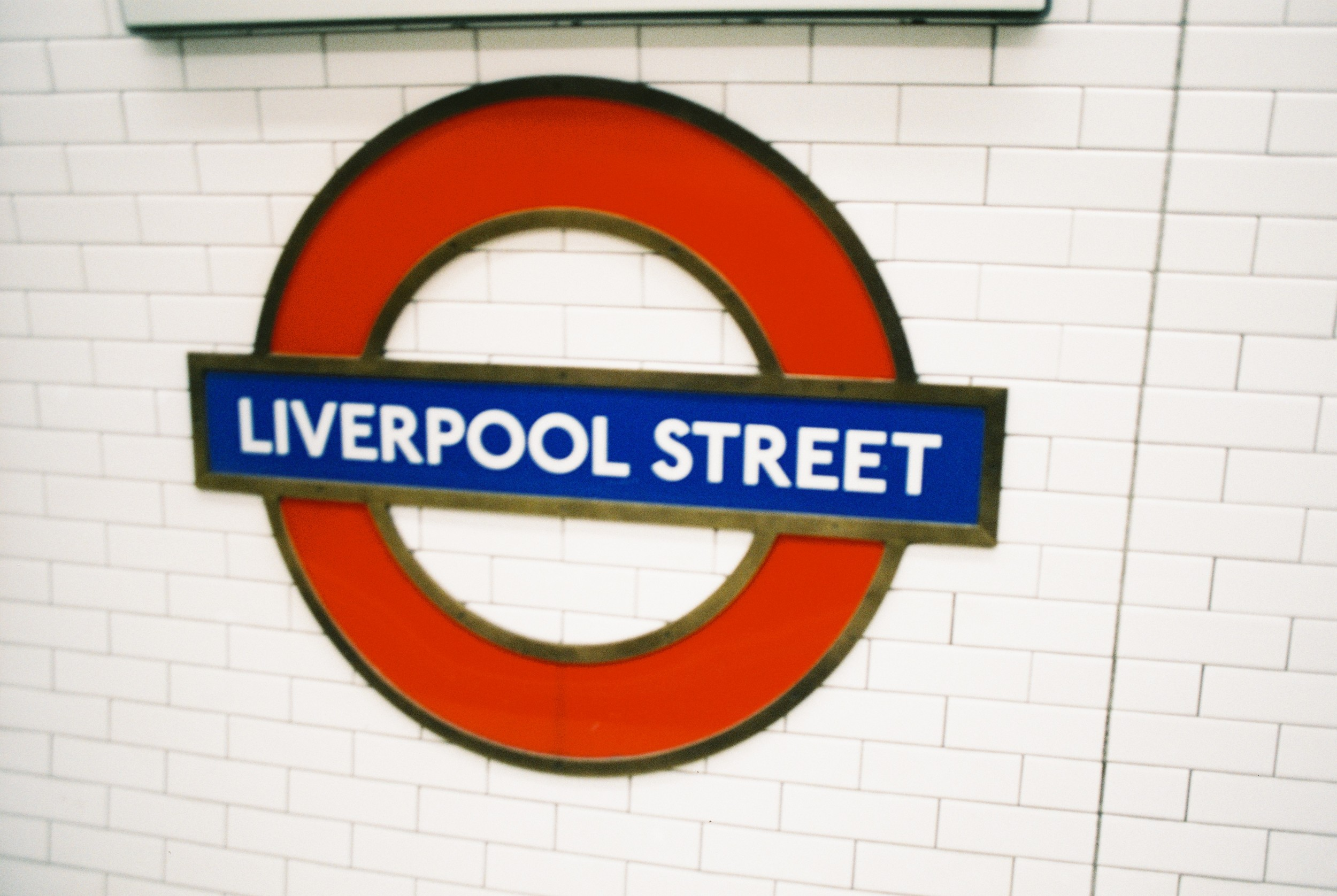 "First Stop ""LIVERPOOL STREET""."