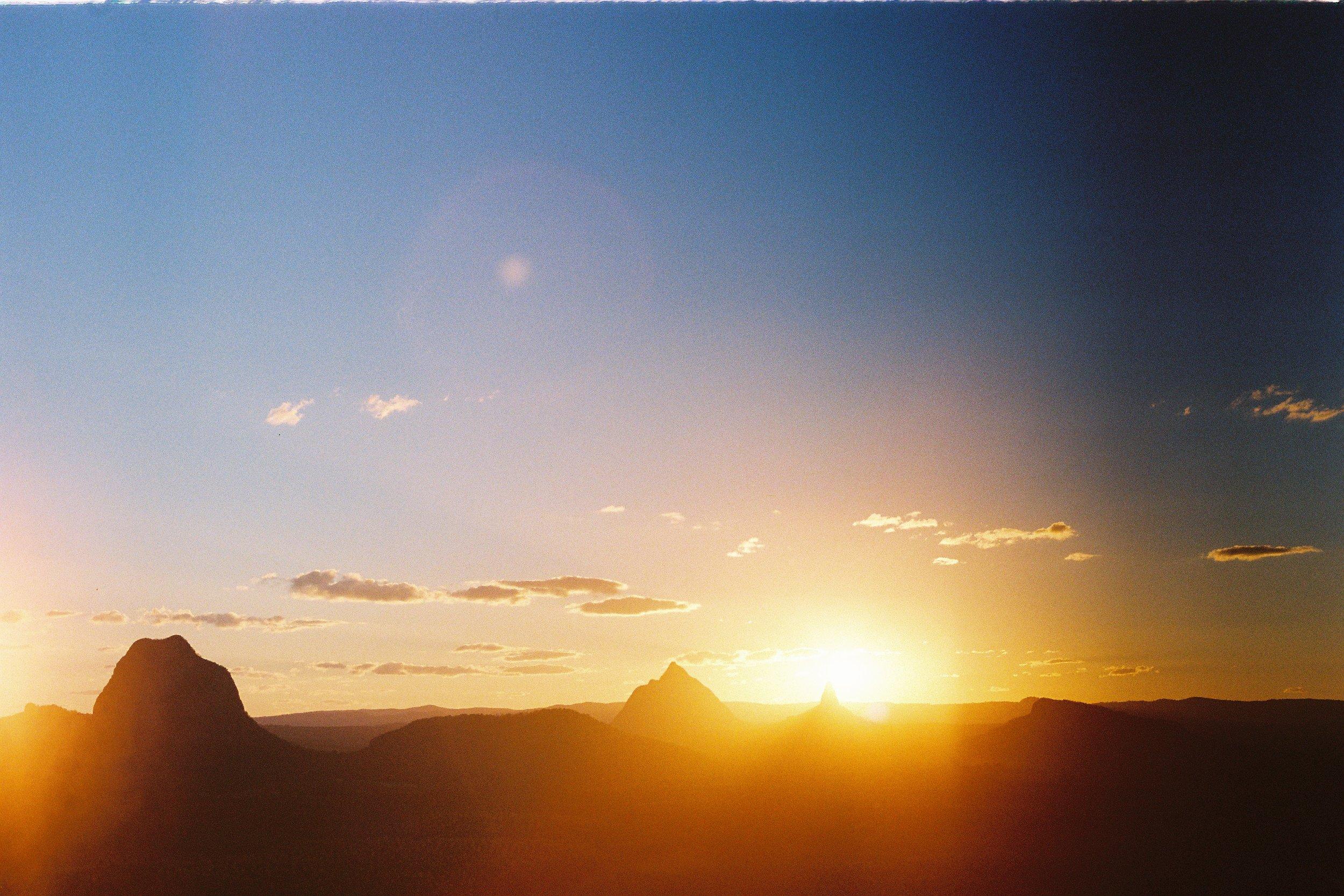 Glasshouse Mountain, Sunshine Coast Qld Australia