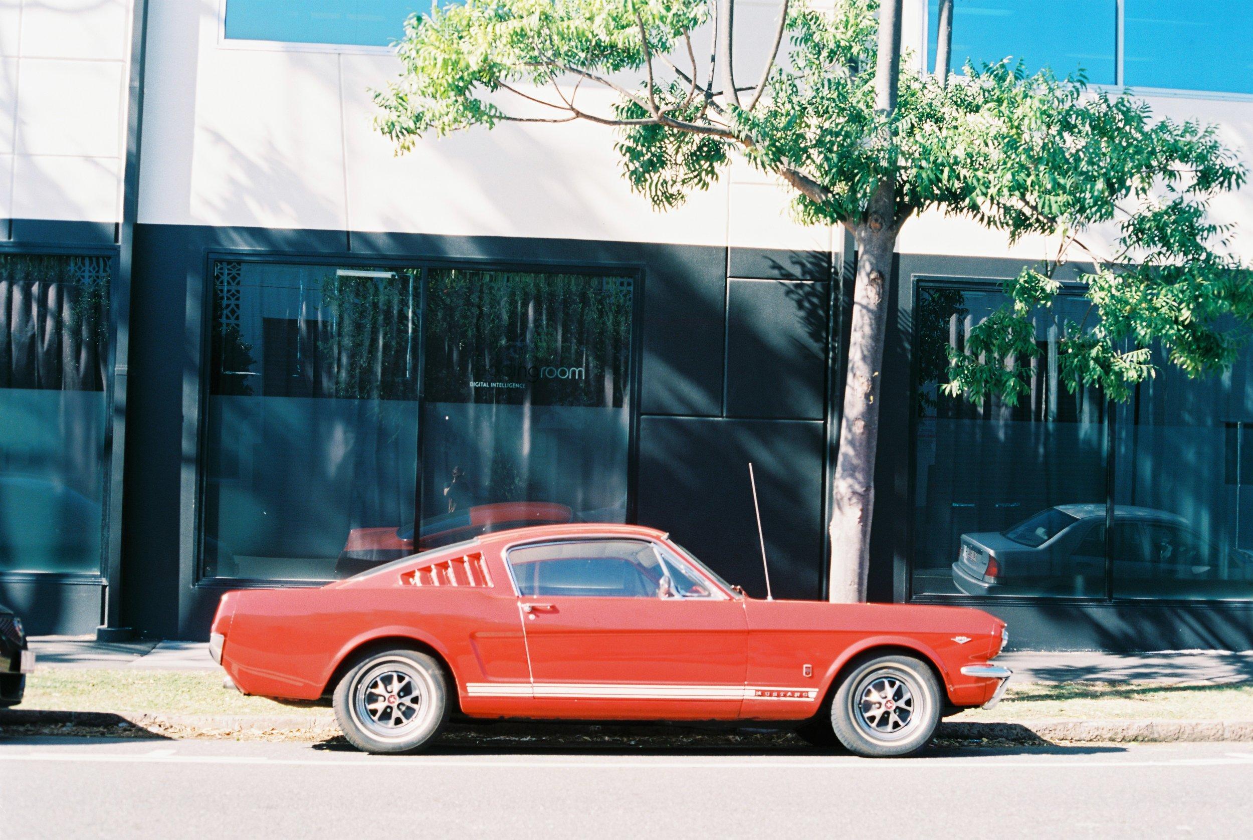 Mustang Fastback, Brisbane 2014.