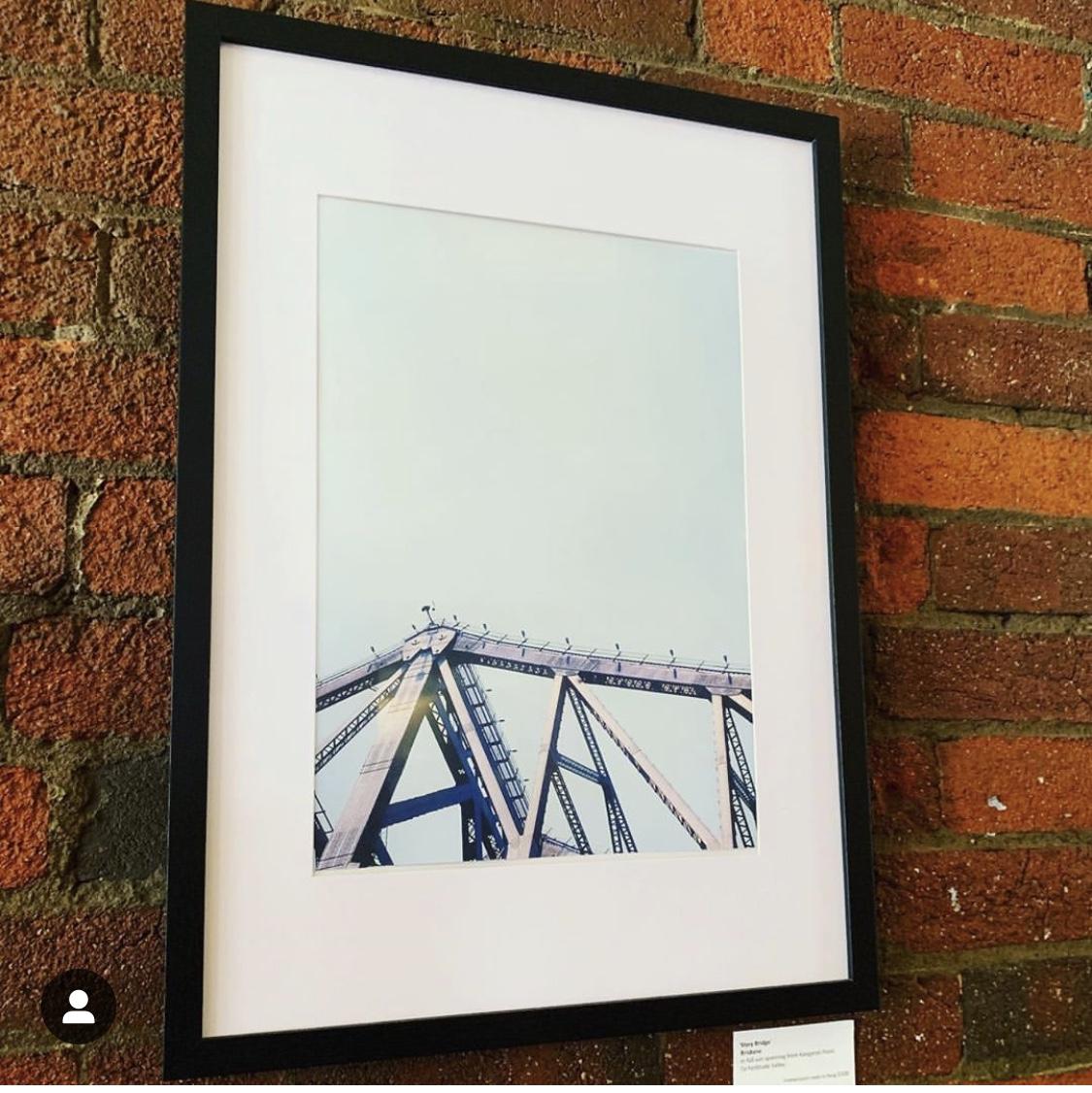 Storey Bridge, 2014 on Velvia 100.