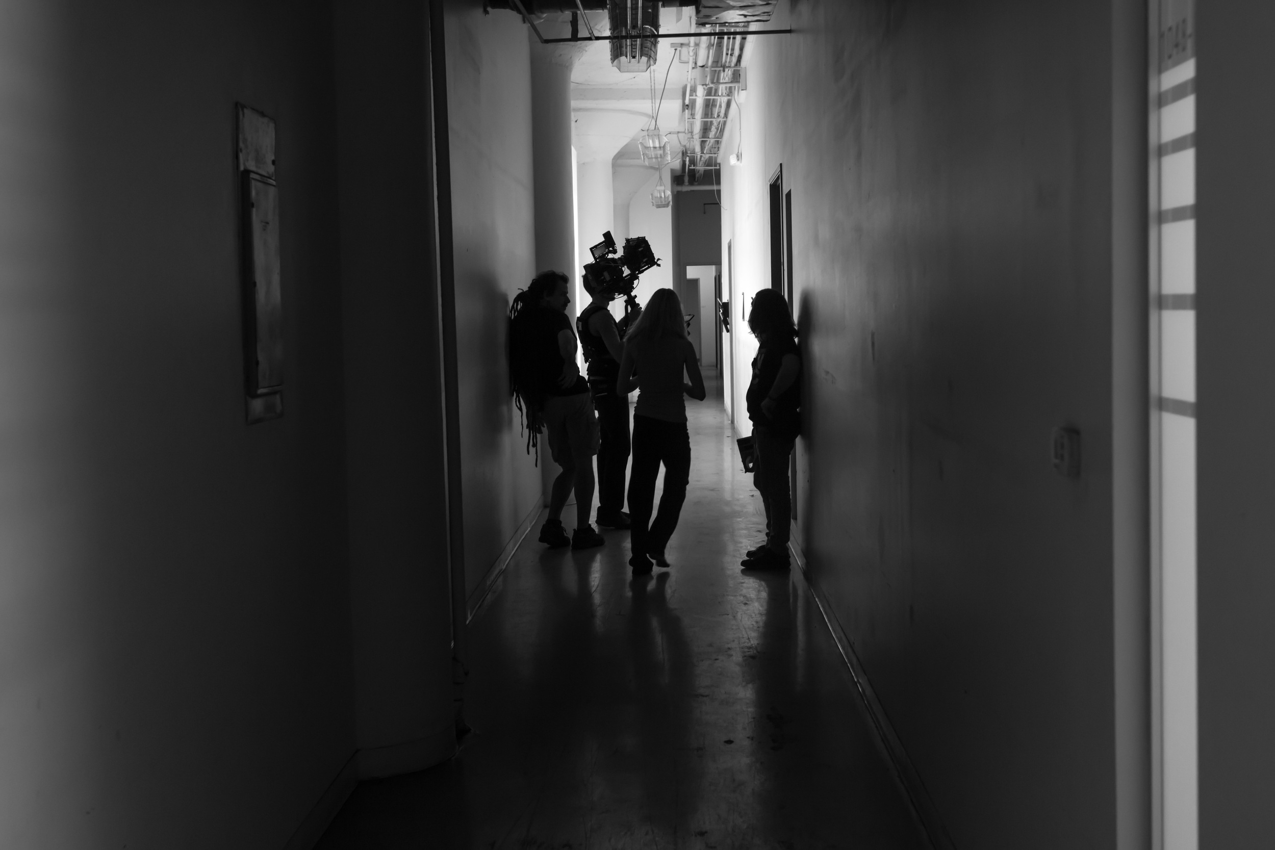 """Still from the set of """"Harper Finch,"""" the short film. Click  here  for more!"""