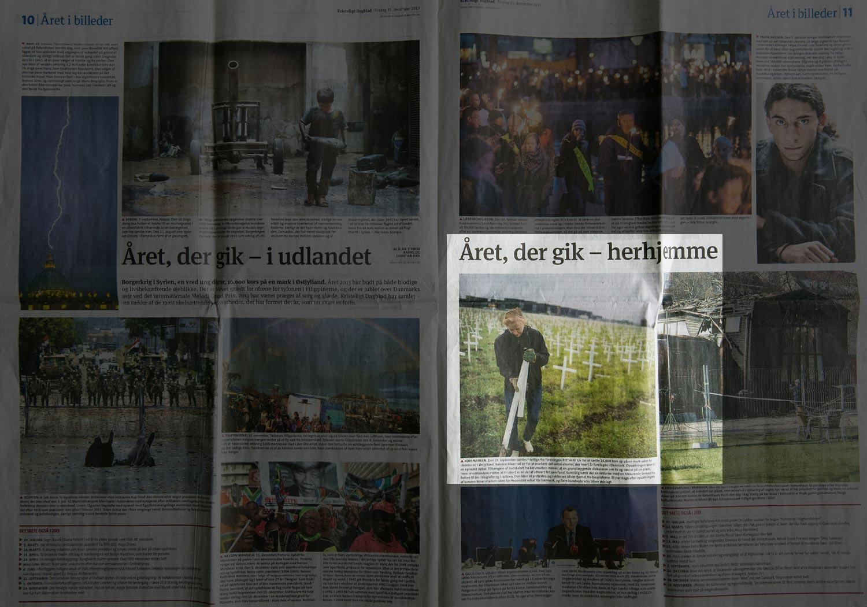 Korsmarken blev kåret som en af de 10 vigtigste begivenheder 2013 af Kristelig Dagblad