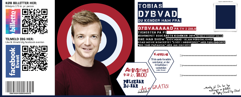 Høng Stand up show feat Tobias Dybvad Carsten Herholdt