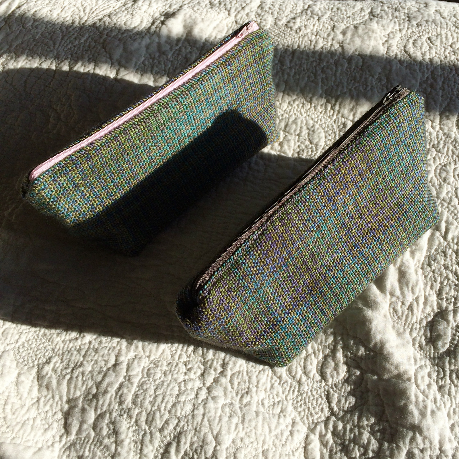 handwoven zipper pouch 2