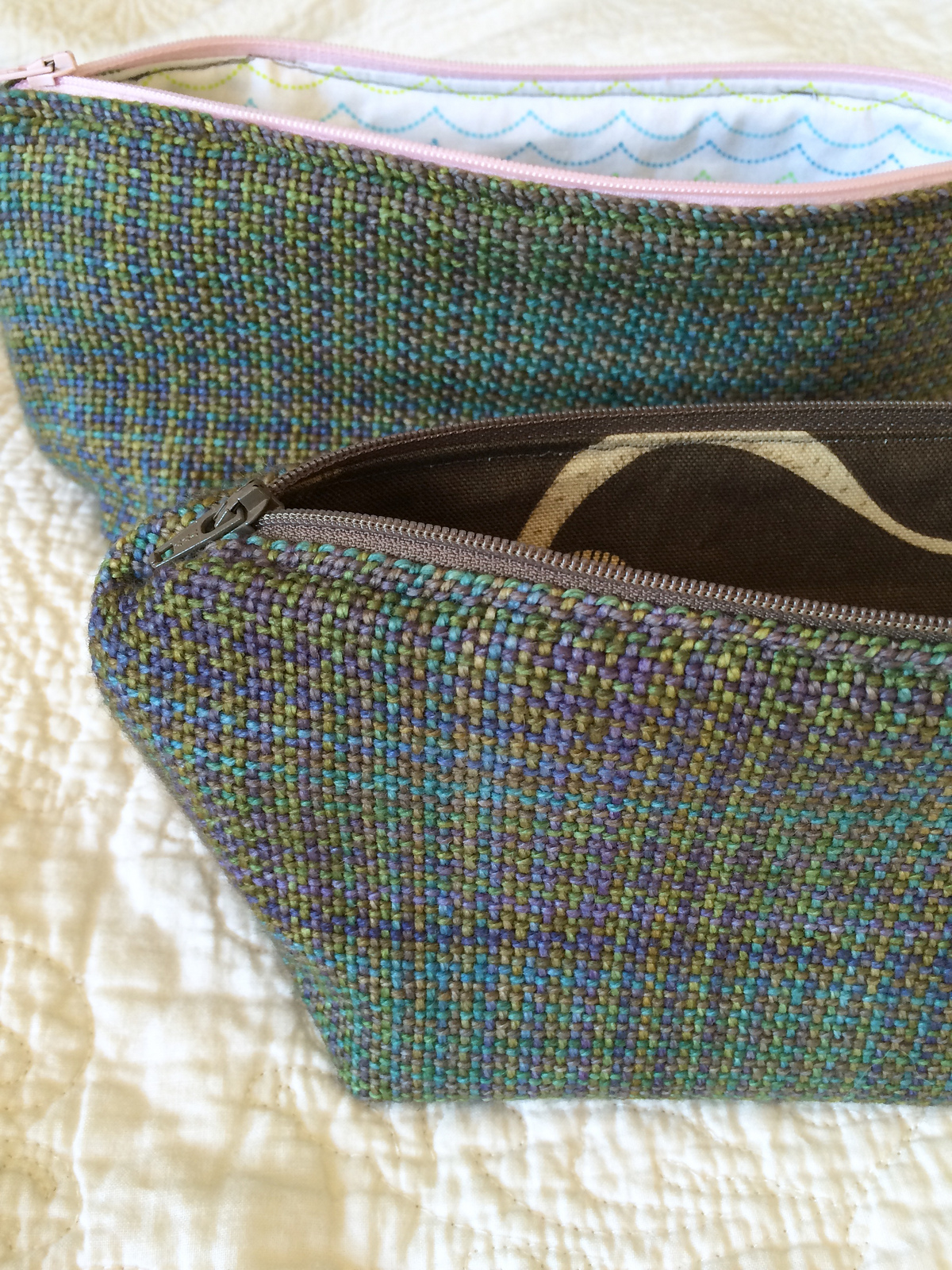 handwoven zipper pouch 3