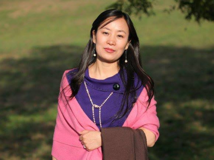 """""""I went on to Study Fashiondesign in China and Paris .I love the designs and meaning found in the traditional Chinese arts. I practice an ancient system of Chinese Qigong, which is my main source of inspiration and understanding of Chinese culture."""""""