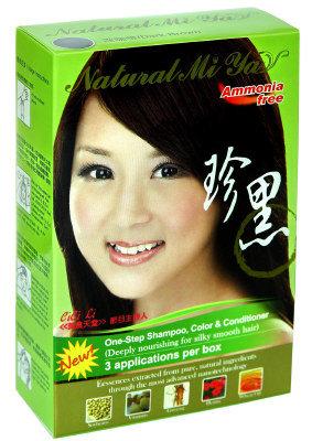 諾媚雅珍黑護髮染髮乳產品簡介