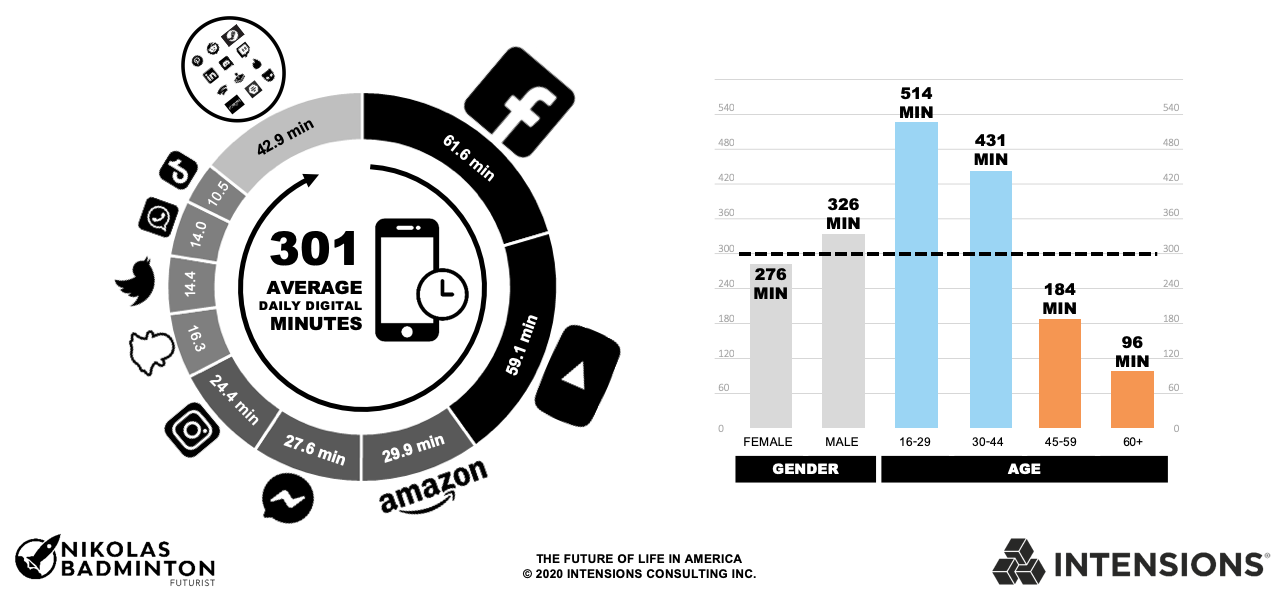 The Future of Life in America - Digital Obesity