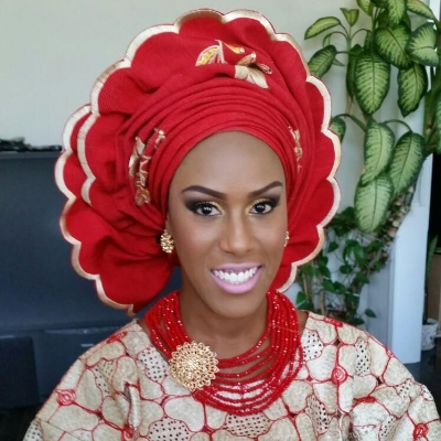 CleanLocs Client Looking Stunning In Her Nigerian Wedding Garb. Congrats on Your Union!!