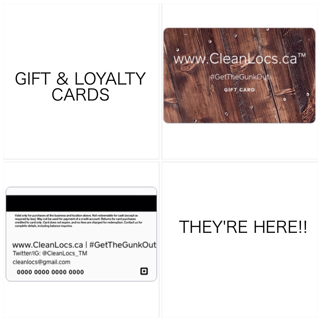 CleanLocs Giftcards are great for Birthdays, Holidays, University Grads and more! CleanLocs Giftcards are also relodable making it easy to budget your Loc Maintenance and earn CleanLocs credits!!