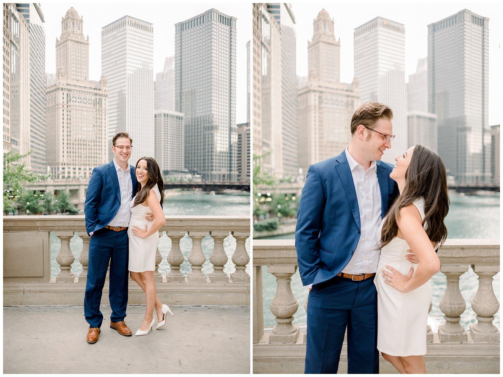 Wrigley Building Chicago Engagement Photos_0001.jpg