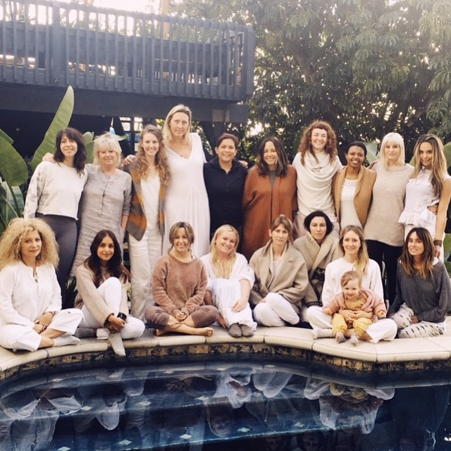Magical weekend with magical women @laraelliott1 thank you thank you 🙌🏽 let the healing begin💫✨ #reiki