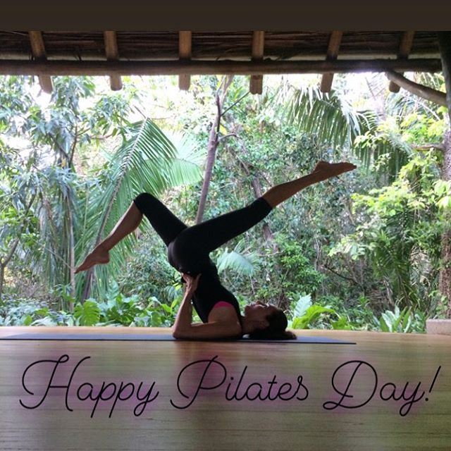 Pilates day!!! 🤸🏻♀️