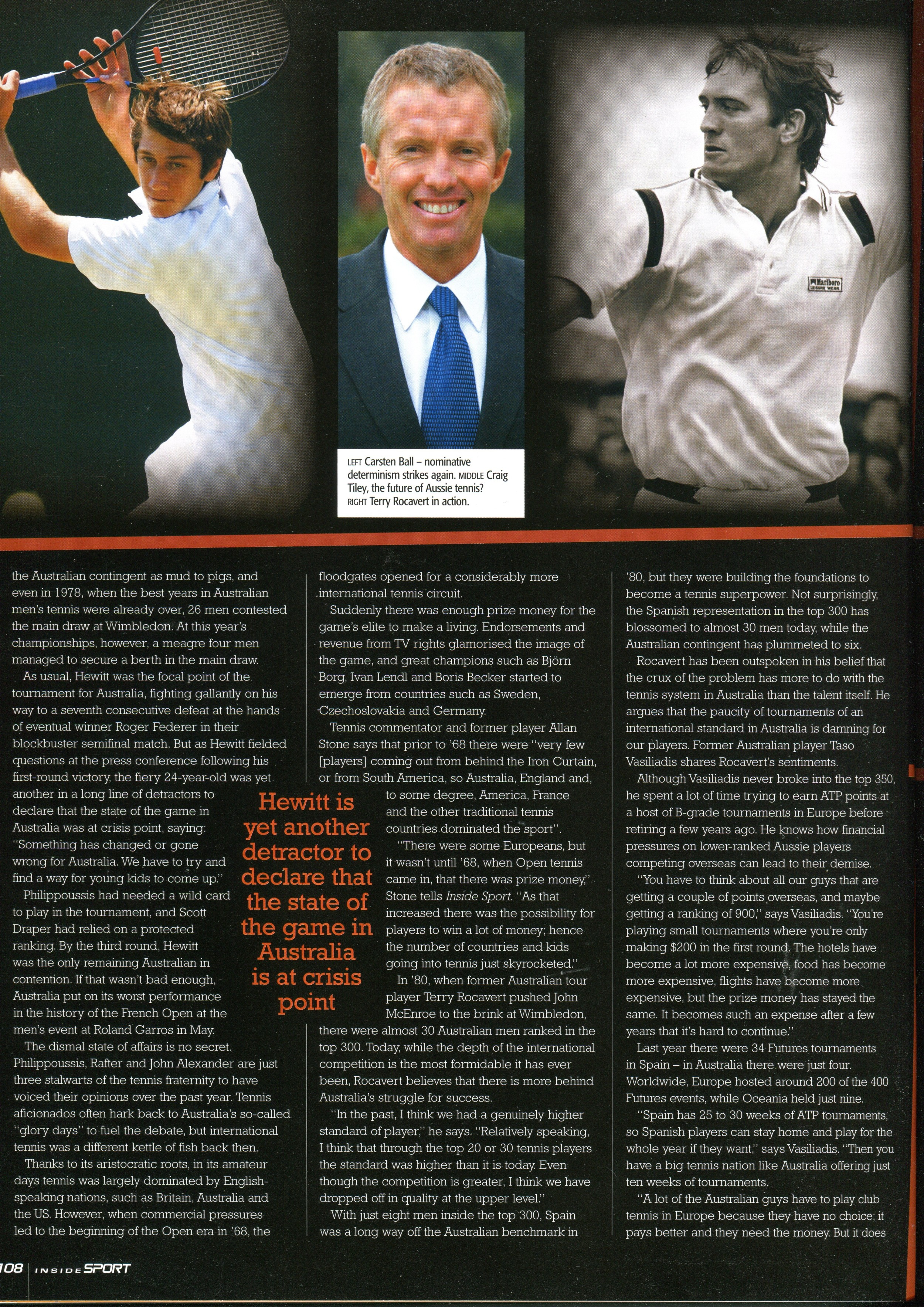 INSIDE SPORT NOVEMBER 2005 AUSTRALIAN TENNIS FUTURE FEATURE (4).jpg