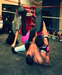 A feature for  Australian Penthouse   about the Australian wrestling scene (Pic:  Mike Kalasnik ).