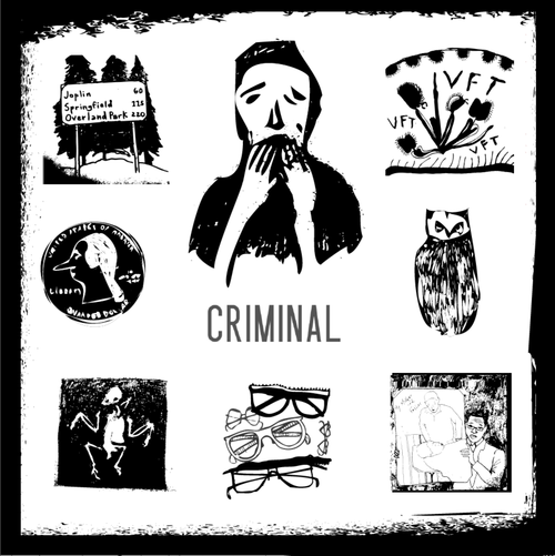 Criminal's artwork is by illustrator  Julienne Alexander .
