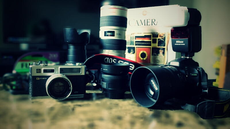 Half the fun of photography is all the cool gear.