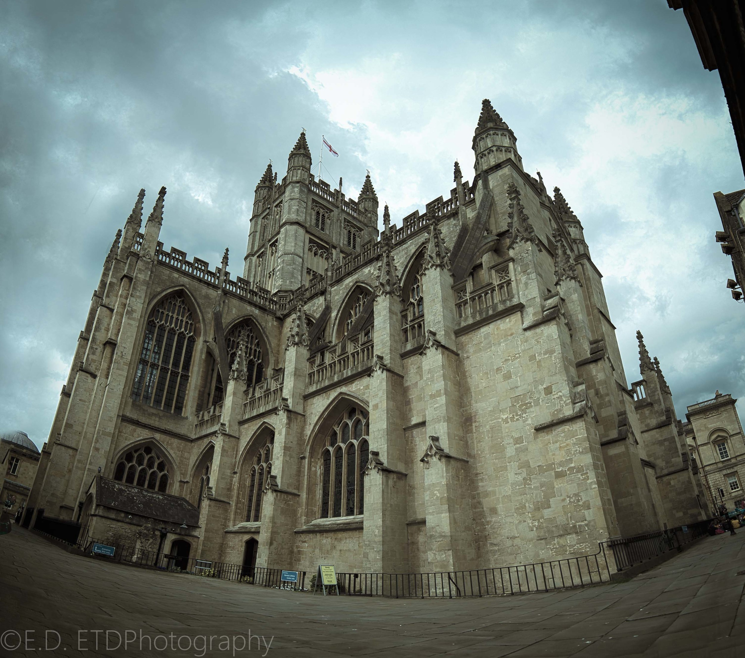 HDR can be used to make impressive architecture photos. Comprised of 6 images from a Nikon D5100.
