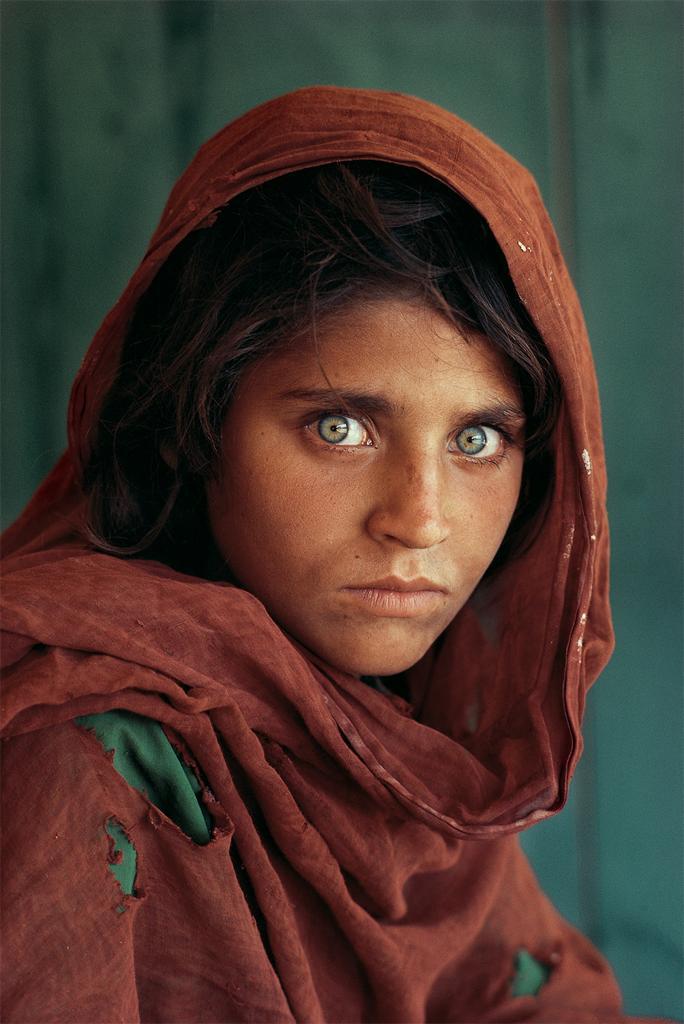 Steve McCurry - Afghan Girl