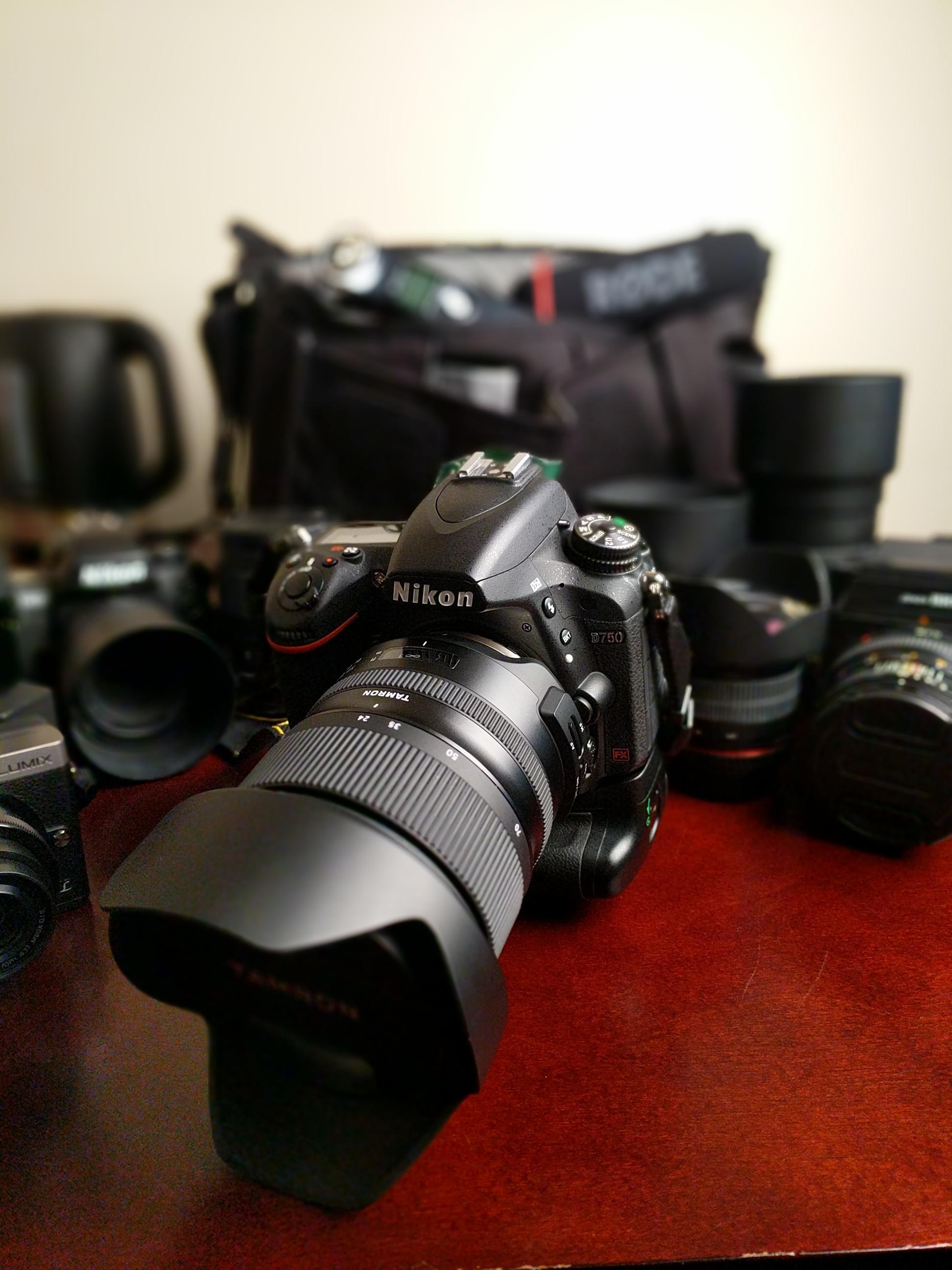 Nikon D750 and Tamron 24-70mm f/2.8 G2