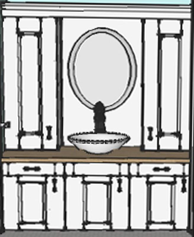 110324 ReedBedroomIteration1_Elevation Bathroom
