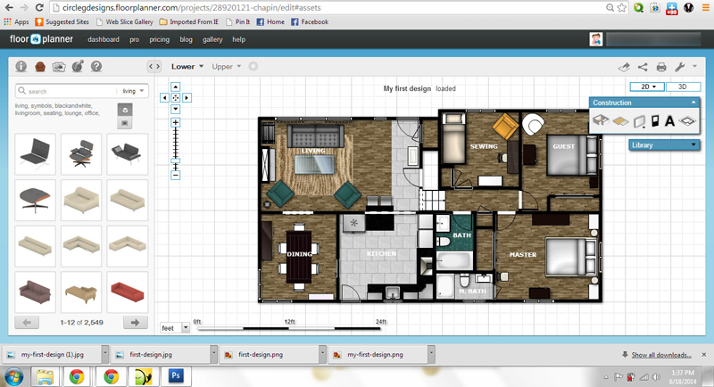 Floorplanner.com — CIRCLE G DESIGNS