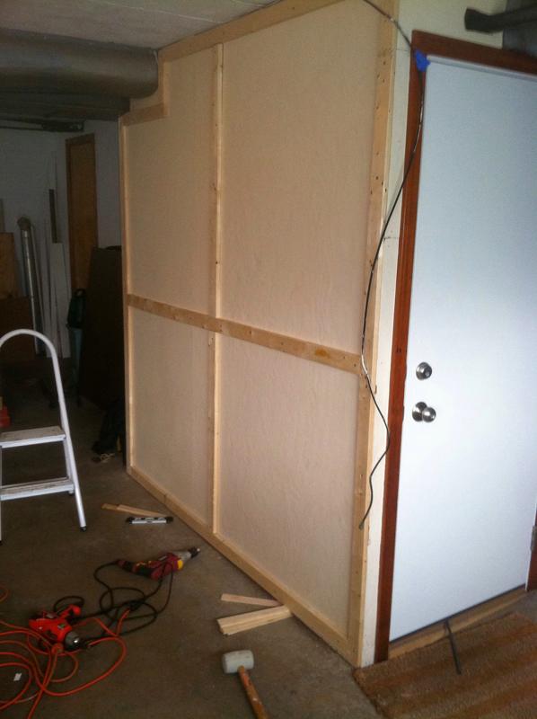 Progress - Furring Strip Installation