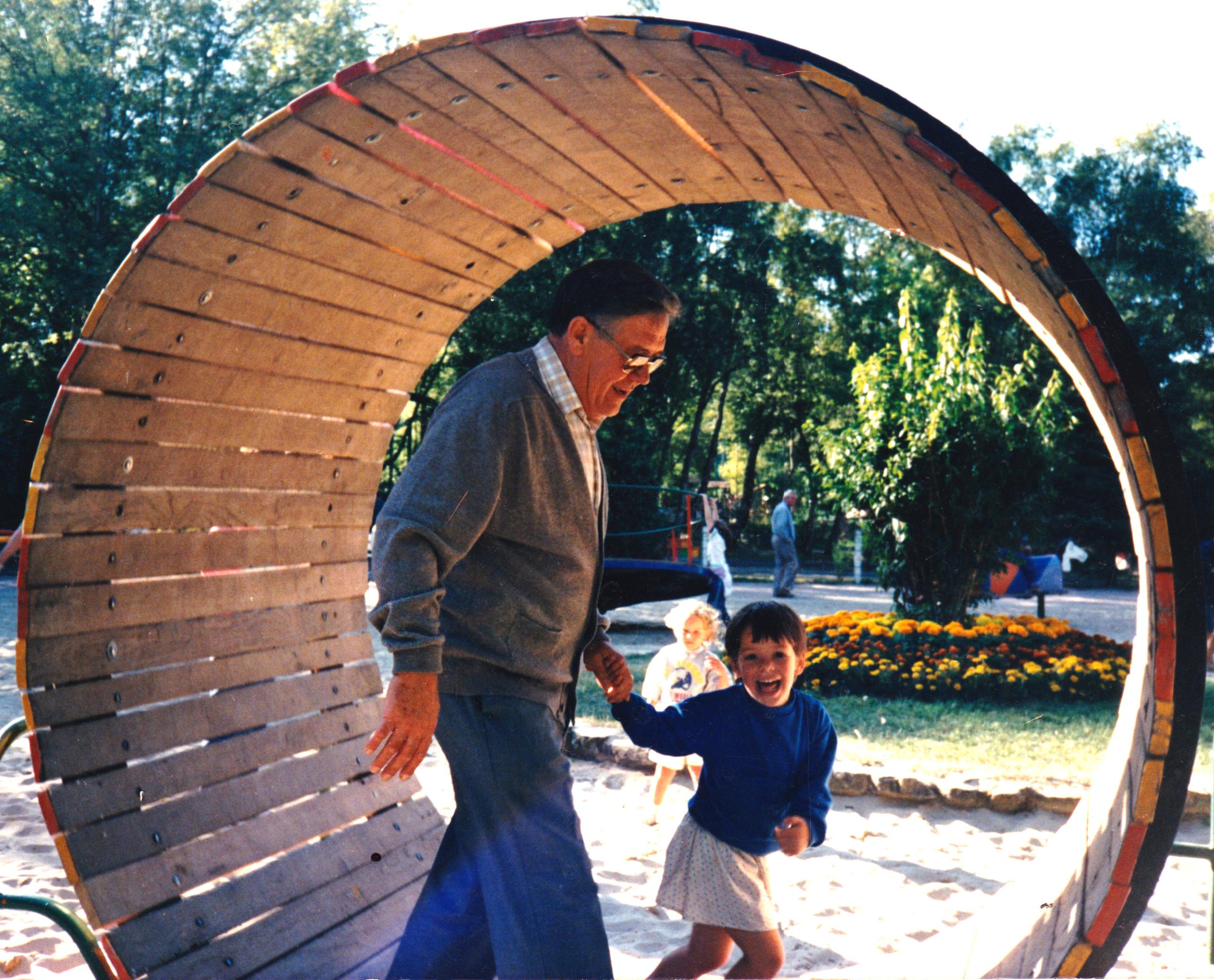 Granddad and I