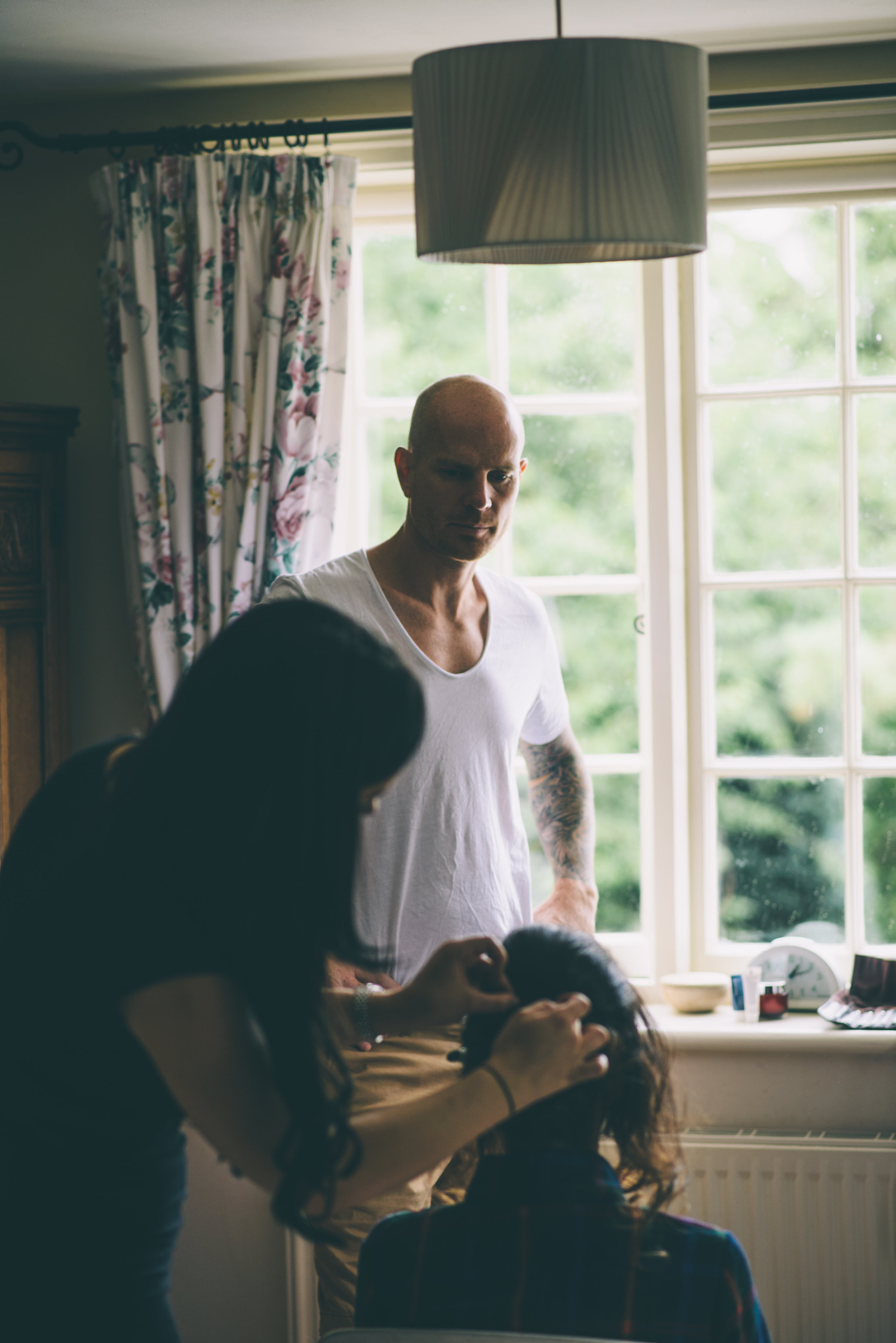 Garden Wedding photography Barley Herefordshire - Tracy + Matt -25.jpg