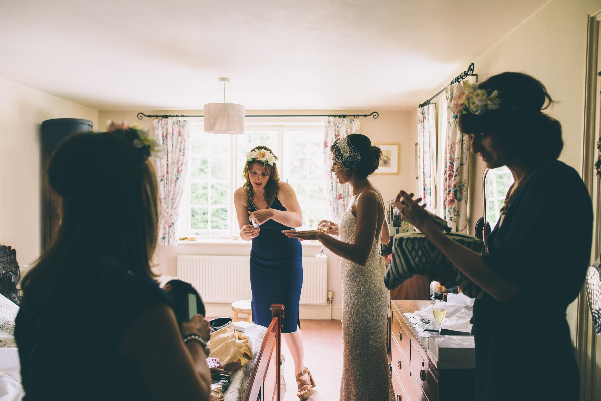 Garden Wedding photography Barley Herefordshire - Tracy + Matt -121.jpg