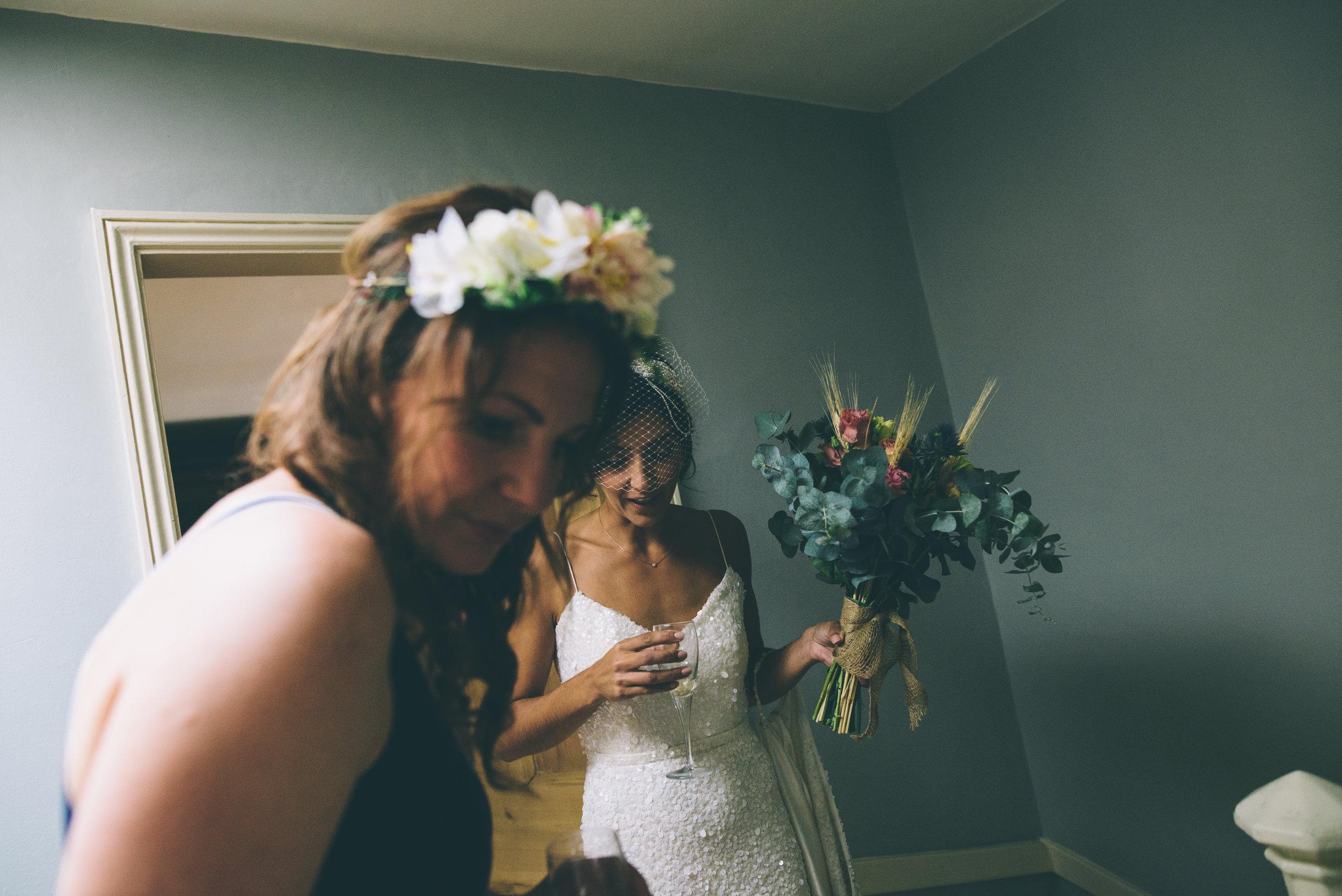 Garden Wedding photography Barley Herefordshire - Tracy + Matt -133.jpg