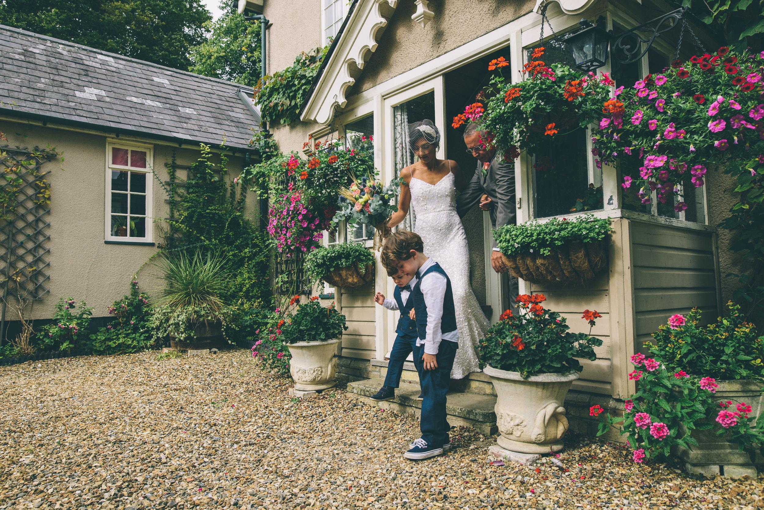 Garden Wedding photography Barley Herefordshire - Tracy + Matt -142.jpg