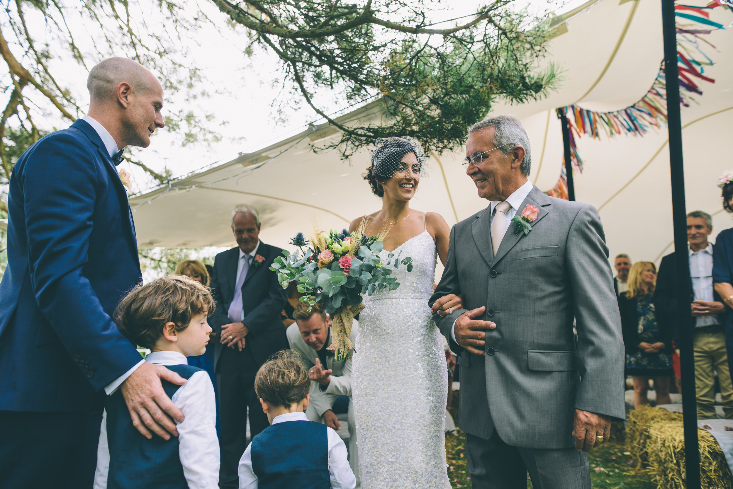 Garden Wedding photography Barley Herefordshire - Tracy + Matt -150.jpg