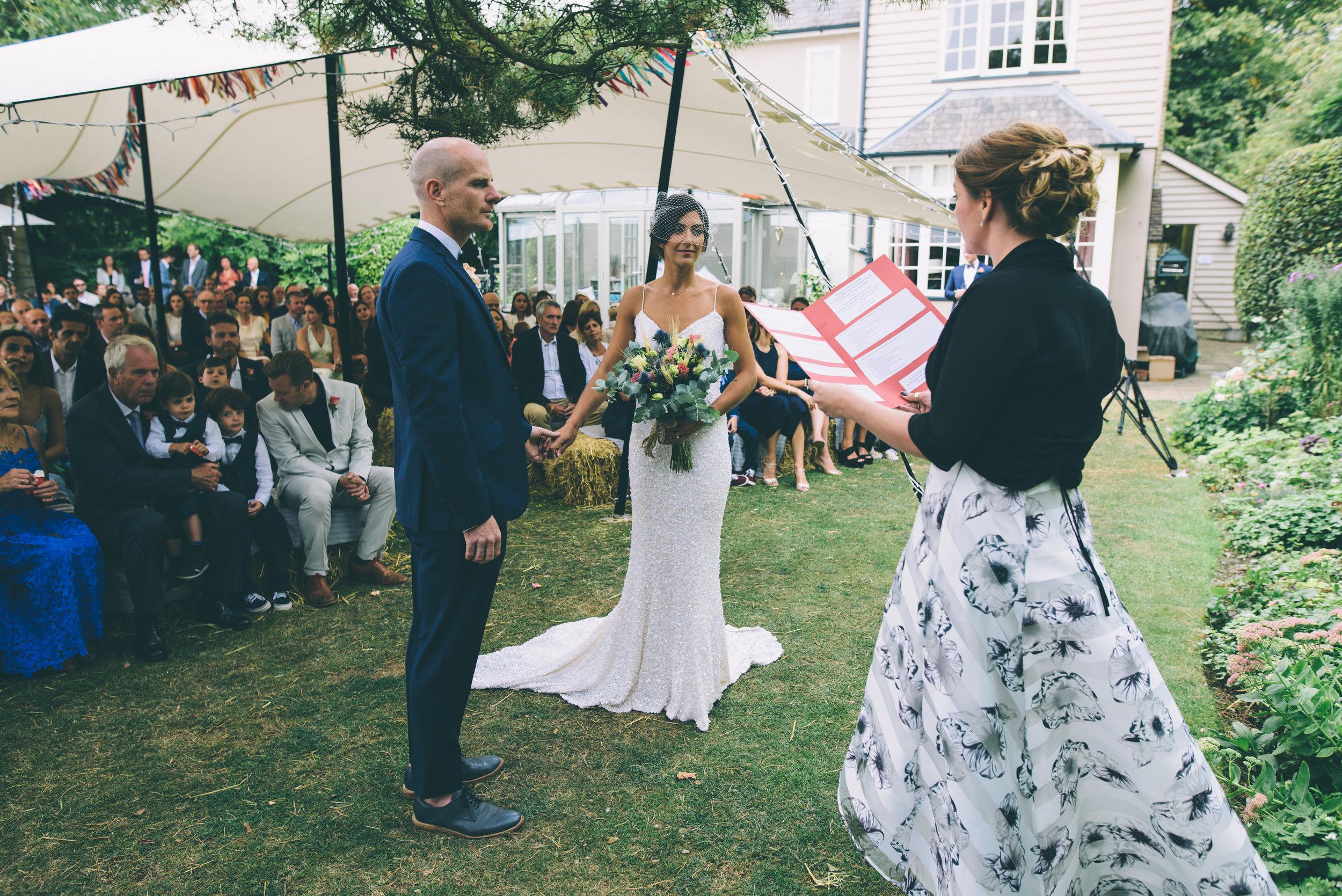 Garden Wedding photography Barley Herefordshire - Tracy + Matt -172.jpg